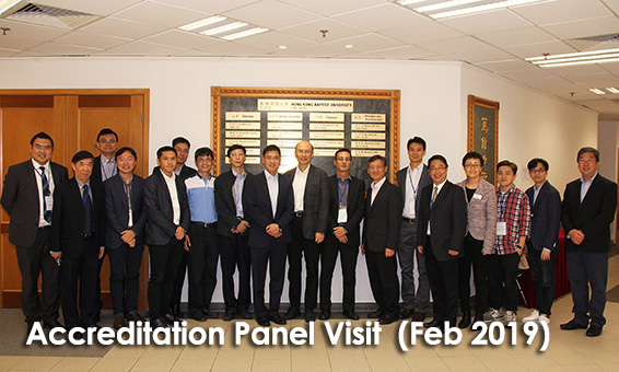 Accreditation Panel Visit  (Feb 2019)