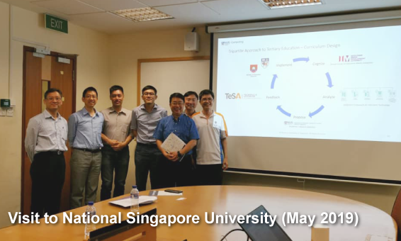 Visit To National Singapore University (May 2019)