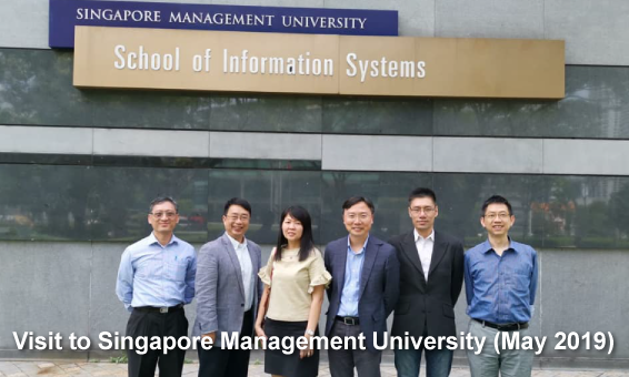 Visit To Singapore Management University (May 2019)